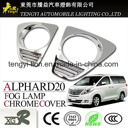 Auto Car Fog Light Chrome Plating Cover for Toyota Alphard 20 |  IBUYautoparts com