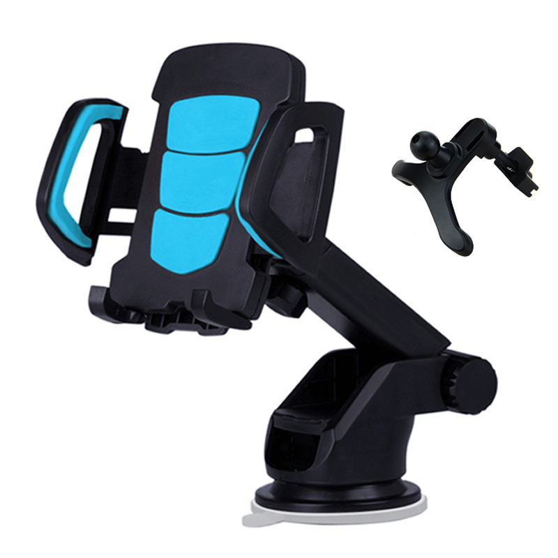 360 Degree Adjustable Rotating Touch Car Mount Holder Phone Holder