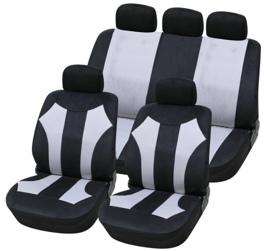 Car Seat Cover Universal Size Polyester Mesh Diamond Seat Cover