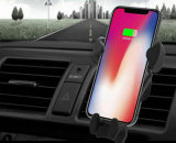 Wireless Charge Qi Wireless Charging Power Bank Car Charger with Holder for Cell Phone