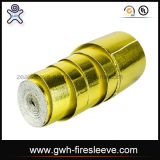 Golden Color Heat Shield Resistant Wrap Aluminum Foil and Fiber Glass