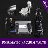 Stainless Variable Electric Exhaust Vacuum Valve with Manual Switch or Remote Control