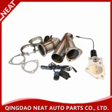Hot Sale Remote Exhaust Dump Y-Pipe/E-Cut out Electric Exhaust Valve Set