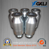 High Flow Stainless Steel Metal Substrate Catalytic Converter