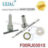 Erikc F00rj03515 Overhaul Kit F 00r J03 515 Injector Repair Kits with Bosch Diesel Nozzle Dlla142p2262 for Injector 0445120289 Cummins