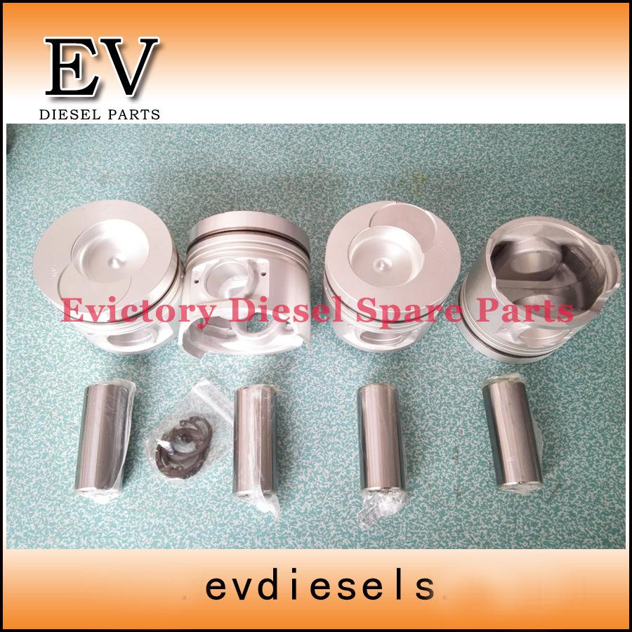 Fd35t Fd33t Rebuild Overhaul Kit Cylinder Head Gasket Piston